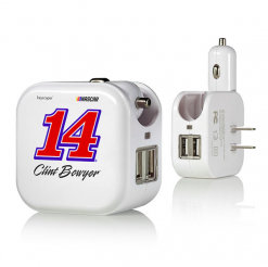 CLINT BOWYER 2 IN 1 USB CHARGER